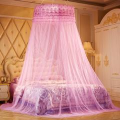 魅力夏日圆顶蚊帐 直径1m 粉色
