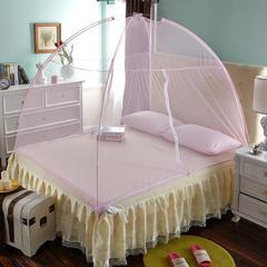 魔术蒙古包蚊帐 1*2m 粉色