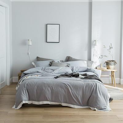 2019新款-北欧风时尚四件套 1.2m(4英尺)床 时尚灰