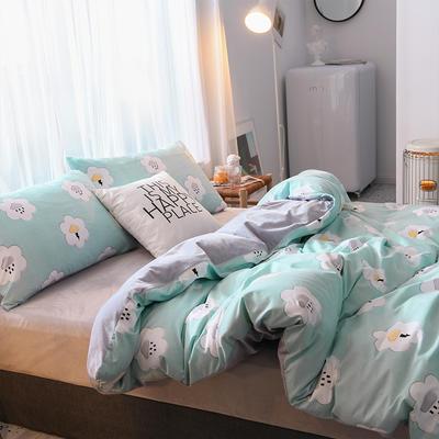 2019秋冬新品 水晶绒保暖单品床单 180cmx230cm 天气预报