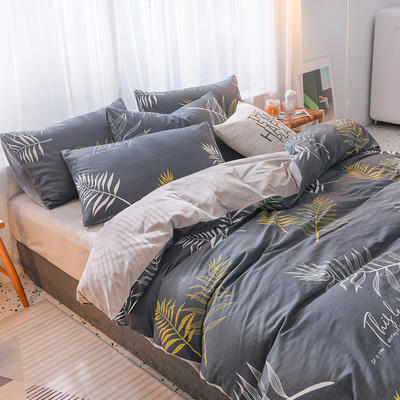 2019秋冬新品 水晶绒保暖单品床单 180cmx230cm 叶寐