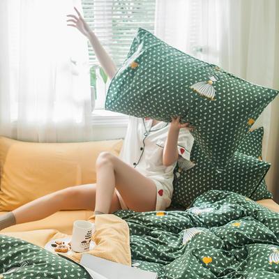 2019新款-德国绒单枕套 48cmX74cm/一对 公主梦