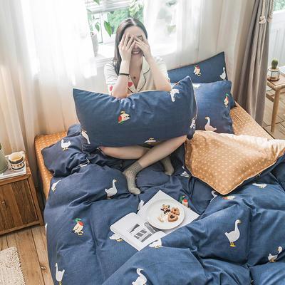 2019新款-德国绒单枕套 48cmX74cm/一对 柯尔鸭