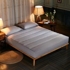 酒店风格水洗棉夹棉床笠(3件套) 180*200cm 灰色