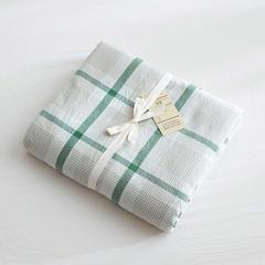 北欧良品(7规格现货)水洗棉被套单品无印良品被套单件 200X230cm 英伦绿格