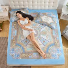 西班牙牛皮席-彩绘 1.2mx1.9m 弗洛伦萨(含枕套)