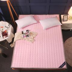 2018新款加厚法莱绒床垫 定做尺寸/平方 粉色