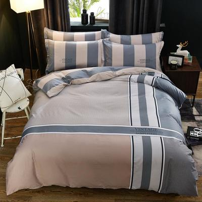 2020新款全棉全棉13372大版四件套 1.5m(5英尺)床单款 盛夏光年
