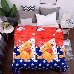 2018新款云貂绒毛毯毯子 1.2*2m 小熊