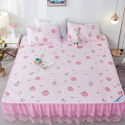 2020新款空调软席床裙款 150X200m 水蜜桃-床裙