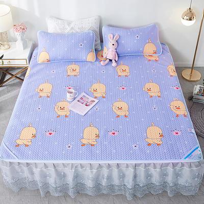 2020新款空调软席床裙款 120x200m 小黄鸭-床裙