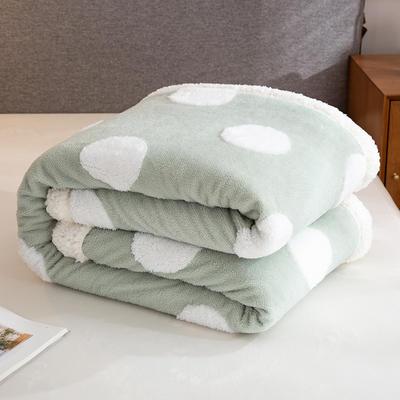 2020新款舒棉绒+羊羔绒单被套盖毯 180x220cm 梦境