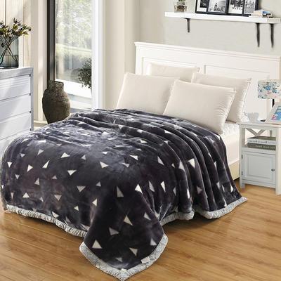 拉舍尔毛毯4斤-12斤+花型多多 (经典款) 1.5*2.0m(4斤) 简单生活