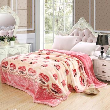 2018新款-拉舍尔毛毯4斤-12斤+花型多多 (经典款)