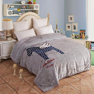拉舍尔毛毯4斤-12斤+花型多多 (经典款) 1.5*2.0m(4斤) 神马