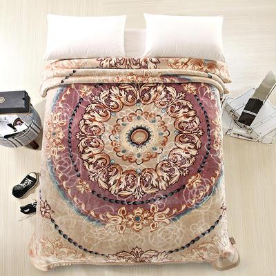 天丝毯 专版花型 200cmx230cm 奇思妙想