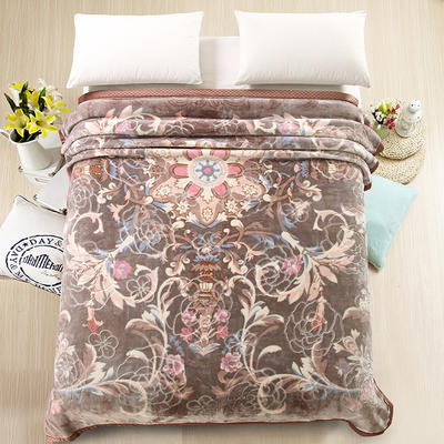 天丝毯 专版花型 200cmx230cm 芊芊阙舞