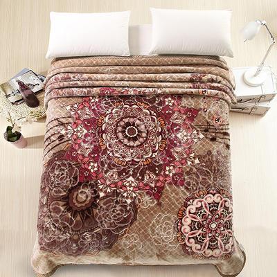 天丝毯 专版花型 200cmx230cm 乌兰巴托的夜