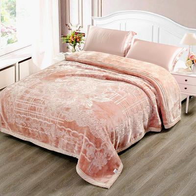 玉雕-精品素色压花毯 200cmx240cm±0.5cm 玉雕-驼色