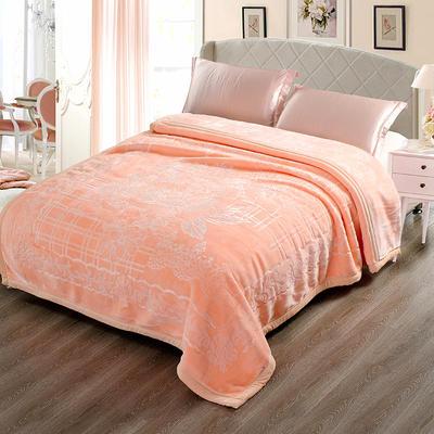 玉雕-精品素色压花毯 200cmx240cm±0.5cm 玉雕-玉色