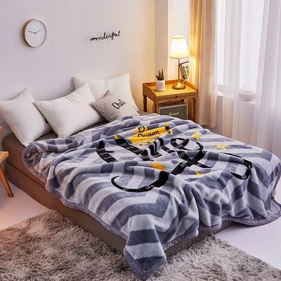 拉舍尔毛毯4斤-12斤+花型多多 (经典款) 1.5*2.0m(4斤) 皇冠