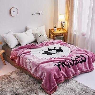 拉舍尔毛毯4斤-12斤+花型多多 (经典款) 1.5*2.0m(4斤) 女王