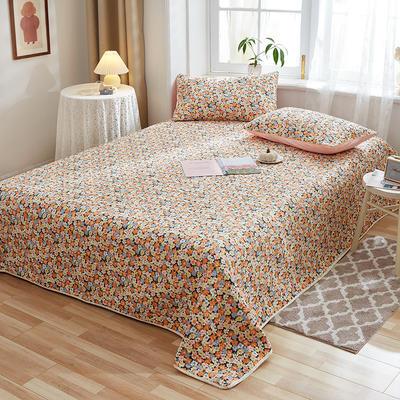2020新款四季款天雪棉多功能床盖三件套 200cmx230cm 花团锦簇