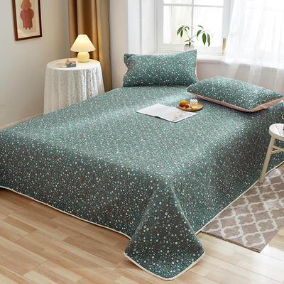 2020新款四季款天雪棉多功能床盖三件套 200cmx230cm 花颜