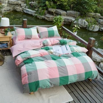 航航家居 水洗棉四件套
