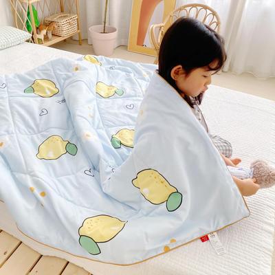 2020新款加厚水洗棉夏被 150x200cm 柠檬小花