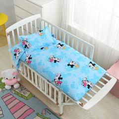2018新款13372AA版婴童幼儿垫套 60*120cm 米奇蓝