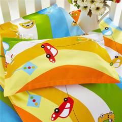 2018新款13372AA版婴童幼儿枕套、枕芯 枕套+枕芯28*43cm 宝宝车手