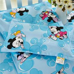 2018新款13372AA版婴童幼儿枕套、枕芯 珍珠棉枕芯 米奇蓝