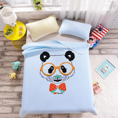 2018新款大版针织儿童夏被 95*95cm 绅士熊猫