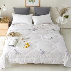 2018新款棉花被 150x200cm5斤 棉朵-白