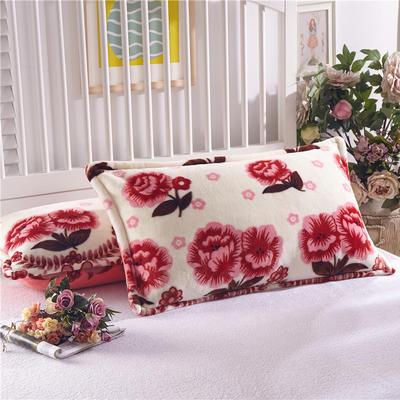 雅萱家纺 枕套 48cmx74cm/个 花语迷情
