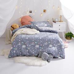 全棉三件套(一) 直角款1.2m(4英尺)床 友情岁月
