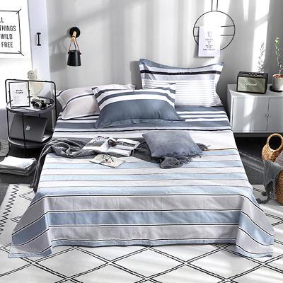 2019新品全棉印花單品床單 120cmx230cm 八度空間