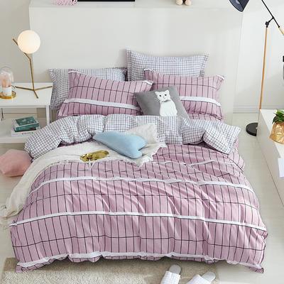 2019新品全棉印花四件套 1.35m床及以下三件套 清歌