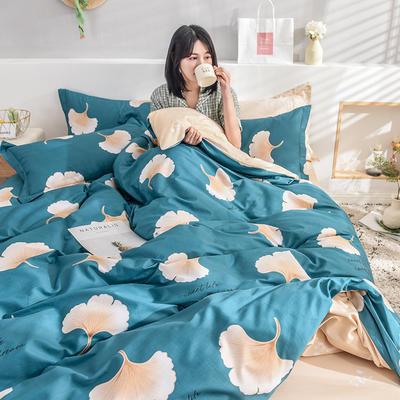 2019新款全棉活性印花四件套 1.2m床单款三件套 绿野仙踪