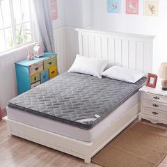 4D加厚透气床垫(一) 1.35*2米 4d灰