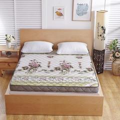 2017新款记忆棉床垫(10厘米款) 0.9米 花开富贵