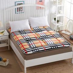法兰绒绗缝床垫 0.9*1.9米 布拉歌