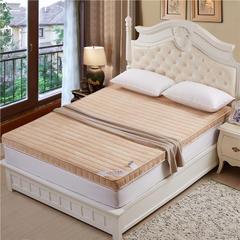 法莱绒立体床垫(二) 1.5*2米 驼色法兰绒