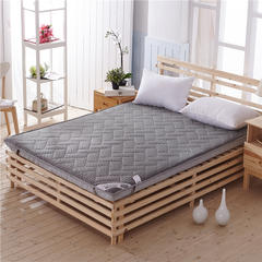 加厚单边10厘米4d和法兰绒新款床垫(10厘米单边)一 1.2*1.9米 4d灰