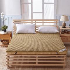 加厚单边10厘米4d和法兰绒新款床垫(10厘米单边)一 0.9*1.9米 4d驼