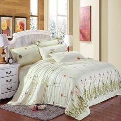 磨毛钻石绒四件套 1.0m(3.3英尺)床(三件套) 永久的爱