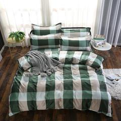 磨毛钻石绒四件套 1.0m(3.3英尺)床(三件套) 维德小镇