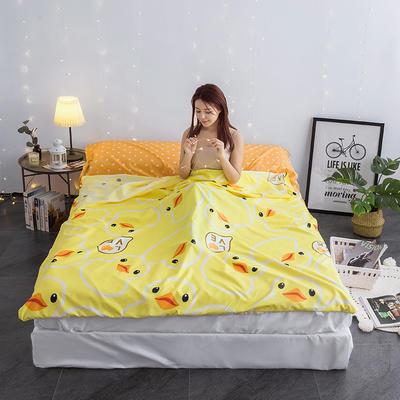 富瑞阁   2020新品隔脏旅行睡袋(80*215cm ) 印花系列大黄鸭