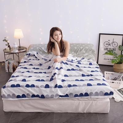 富瑞阁     2019新品隔脏旅行睡袋(120*215cm) 印花系列激情岁月